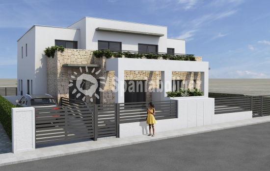 Spaniaboliger starts sales, on the new construction project