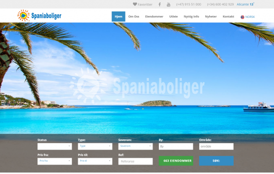 Spaniaboliger estate portfolio grows. We now have over 660 homes for sale on our website.